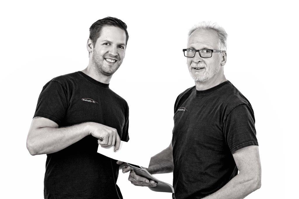 Sebastian und Martin Schröder von autofixx.mechanik